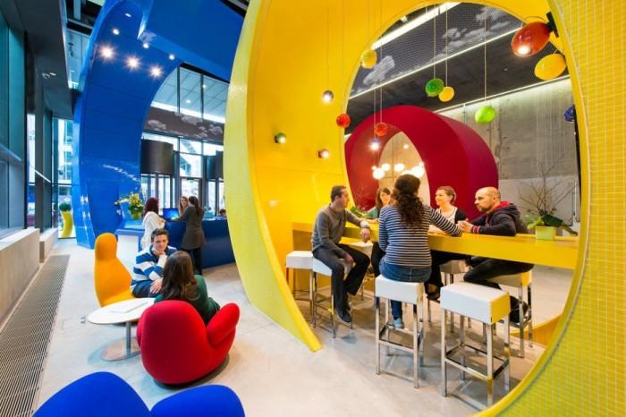 Δεν είναι all day bar. Είναι στιγμιότυπο απο μια τυπική μέρα σε γραφεία της Google.