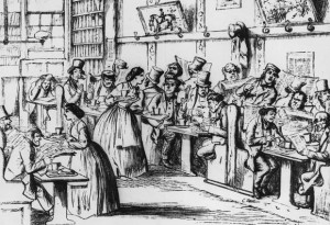 """O Εdward Lloyd ήθελε το καφενείο του να γίνει το μεγαλύτερο στέκι της ναυτιλίας. Τότε τα καφενεία ήταν κάτι σαν τα σημερινά λόμπυ και αίθουσες ξενοδοχείων και σε αυτά """"κλείνονταν"""" πολλές εμπορικές συμφωνίες."""