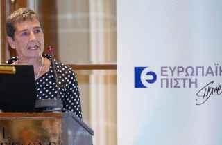 Η Σαμπίνα Τζούρμαν, Διευθύντρια της EBRD σε Ελλάδα και Κύπρο