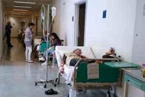Αποτέλεσμα εικόνας για Εικόνα κατάρρευσης σοκάρουν τα νοσοκομεία