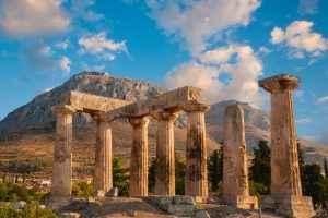 Ναός Απόλλωνα, Αρχαία Κόρινθος