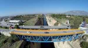 Η γέφυρα στον ισθμό Κορίνθου